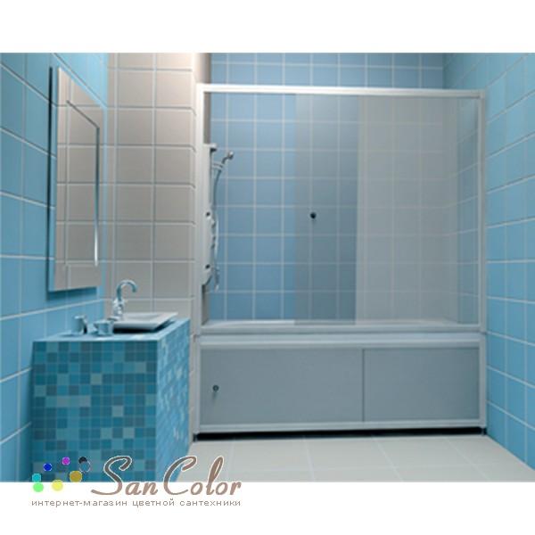 Стеклянный экран для ванной своими руками 91